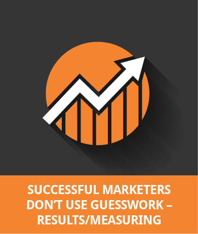 Successful Marketers Don't Use Guesswork - Results / Measuring