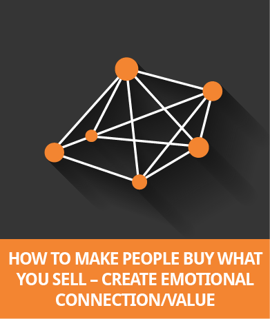 How To Make People Buy What You Sell - Create Emotional Connection/Value